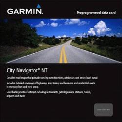 GARMIN City Navigator Middle East & Northern Africa NT - microSD/SD Karte, Kartenmaterial, passend für Navigationsgerät, Schwarz