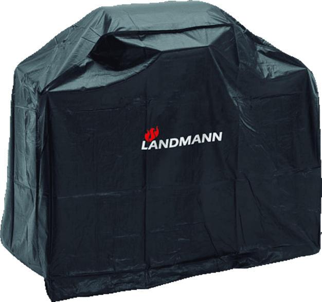 LANDMANN 0276 Wetterschutzhaube, Schwarz