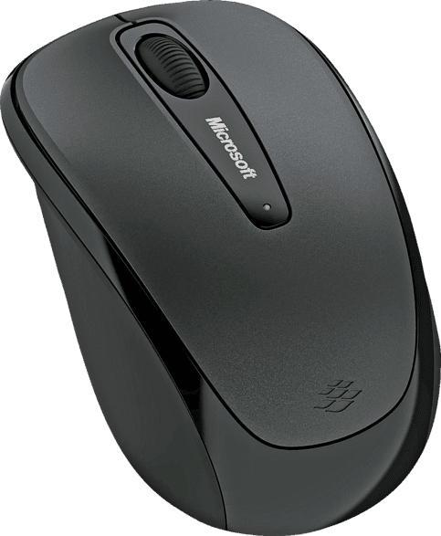 MICROSOFT GMF-00042 Mobile Mouse 3500 Maus, Schwarz