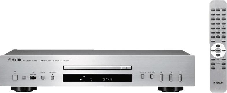 YAMAHA CD-S300 CD Player (Silber)
