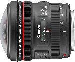 MediaMarkt CANON EF 8-15mm f/4L Fisheye USM 8 mm-15 mm f/4 EF, L-Reihe, USM (Objektiv für Canon EF-Mount, Schwarz)