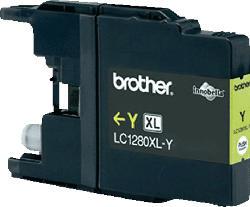 BROTHER Original Tintenpatrone Gelb (LC-1280XLY)