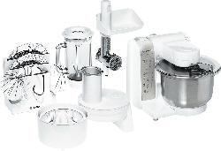 BOSCH MUM4880 Küchenmaschine Weiß 600 Watt