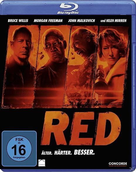 R.E.D. - Älter. Härter. Besser. [Blu-ray]