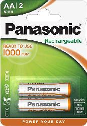 PANASONIC HHR-3LVE/2BC AA Mignon Batterie (wiederaufladbar)