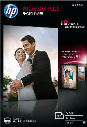 HP CR 677 A Premium Plus Fotopapier Hochglanz 100 x 150 mm  A6 25x Blatt im Format 100 x 150 mm