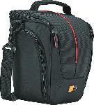 MediaMarkt CASE-LOGIC DCB-306 Kameratasche , Schwarz/Rot