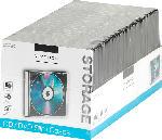Media Markt VIVANCO Slim Case, 50-er Pack Archivierung CD/CD-ROM/DVD + Booklet