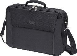 DICOTA D30492-V1 Multi Plus Base Notebooktasche, Umhängetasche, Schwarz
