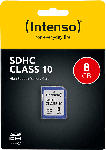 Media Markt INTENSO 3411460 Speicherkarte SDHC 8 GB Klasse 10, SDHC Speicherkarte, 8 GB, 20 MB/s