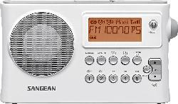 SANGEAN PR-D14 Radio (UKW, MW, FM, Weiß)