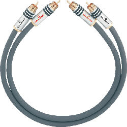 OEHLBACH NF-Audio-Cinchkabel, symmetrisch aufgebaut NF 14 Master Set 2x4,5m Audio Kabel, Anthrazit
