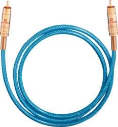 OEHLBACH Digitales Audio-Cinchkabel NF 113 Digital 15 m Kabel, Blau