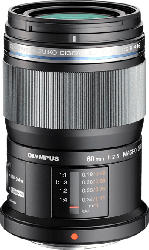 OLYMPUS Pen M ZUIKO ET 60mm 1:2,8 macro 60 mm-60 mm f/2.8 ED (Objektiv für Micro-Four-Thirds, Schwarz)