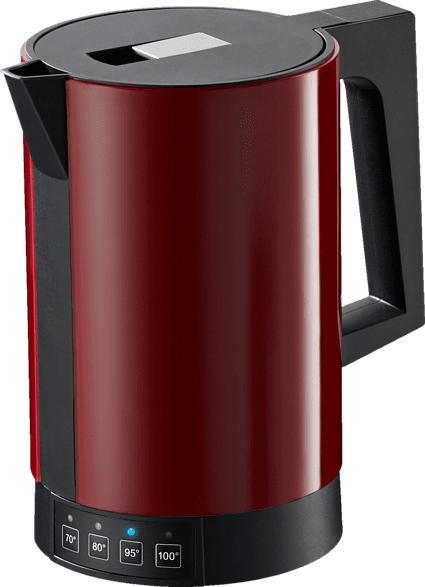 RITTER 635.002 Fontana 5 Wasserkocher, Rot