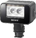MediaMarkt SONY HVL-LEIR 1, Akku-Videoinfrarotleuchte, Schwarz, passend für Kamera, Camcorder