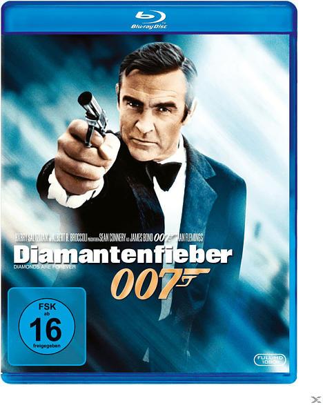 James Bond 007 - Diamantenfieber [Blu-ray]