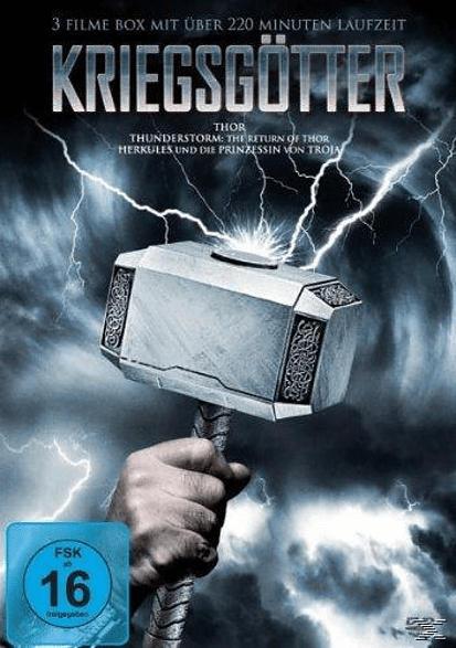 KRIEGSGÖTTER Thor - Thunderstorm: The Return of Thor - Herkules und die Prinzessin von Troja [DVD]