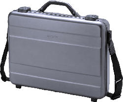 DICOTA D30589 Notebooktasche, Aktentasche, Silber