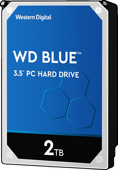 WD Blue™, 2 TB HDD, 3.5 Zoll, intern