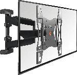 MediaMarkt VOGEL´S Vogels BASE 45 L TV-Wandhalterung für 102-165 cm (40-65 Zoll) Fernseher, drehbar und neigbar, Wandhalterung, Schwarz