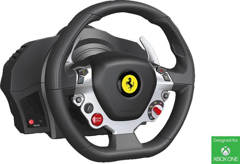 THRUSTMASTER TX Racing Wheel (inkl. 2-Pedalset, Xbox One / PC / Xbox Series XS) , Lenkrad, Mehrfarbig