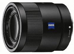 SONY SEL55F18Z Zeiss Vollformat 55 mm f/1.8 ASPH, DMR, Circulare Blende (Objektiv für Sony E-Mount, Schwarz)