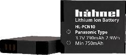 HÄHNEL HL-PCN10 für Panasonic DMW-BCN10 Akku Panasonic , Li-Ion, 3.7 Volt, 790 mAh