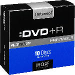MediaMarkt INTENSO 4811652 DVD+R 10 Stück DVD+R Rohlinge