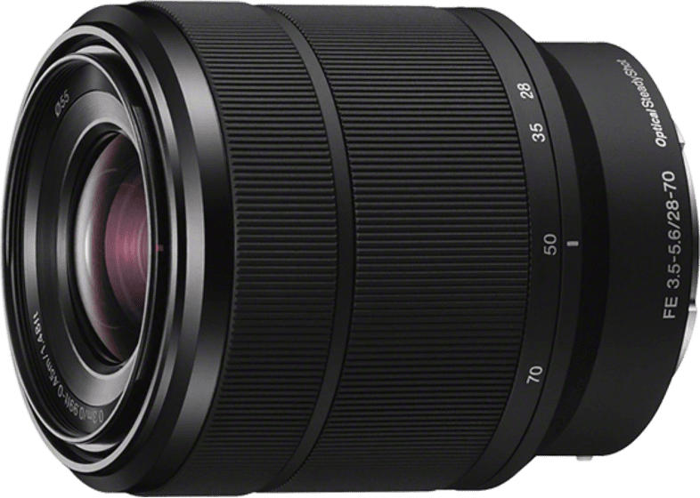 SONY SEL2870 Vollformat 28 mm-70 mm f/3.5-5.6 OSS, ED, Circulare Blende (Objektiv für Sony E-Mount, Schwarz)