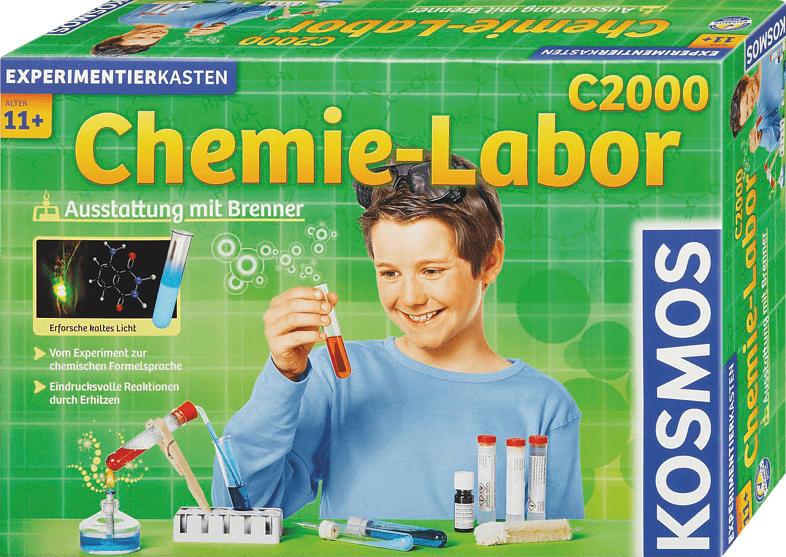 KOSMOS Chemielabor C 2000 Experimentierkasten