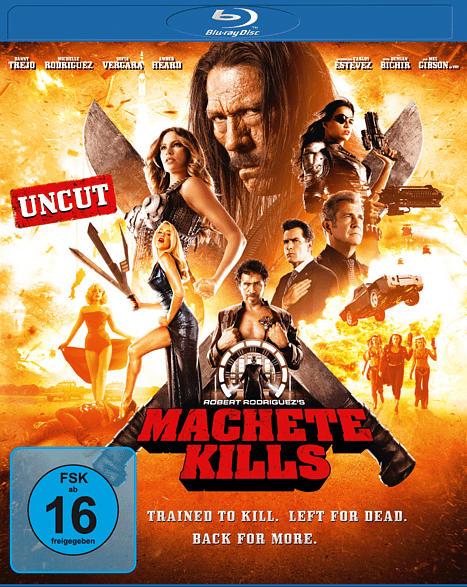 Machete Kills (uncut) [Blu-ray]