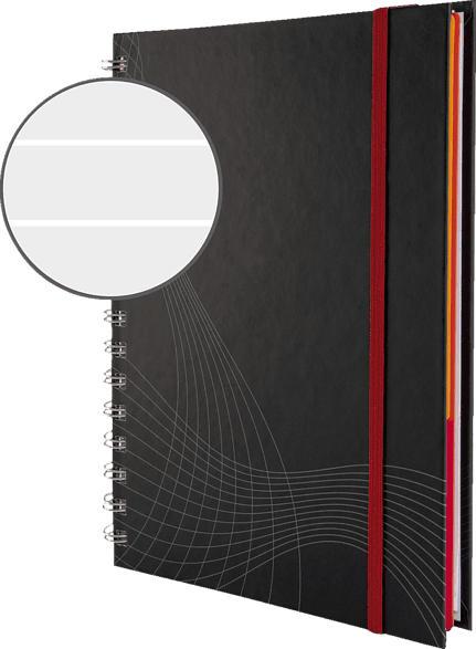 AVERY ZWECKFORM notizio Hardcover Notizbuch 185 x 215 mm 185 x 215 mm A5  90 Blatt