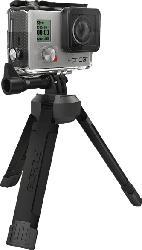 GOPOLE GPBAS-15 COMPACT, Stativ, Schwarz, passend für GoPro Hero3+