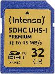 Media Markt INTENSO 3421480, SDHC Speicherkarte, 32 GB, 45 MB/s
