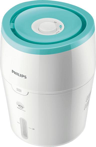 PHILIPS HU 4801/01 Luftbefeuchter Weiß/Türkis