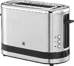 WMF 04.1410.0011 KÜCHENminis®  Toaster Edelstahl matt (600 Watt, Schlitze: 1)