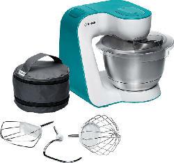 BOSCH MUM54D00 Küchenmaschine Weiß/Dynamicblau 900 Watt