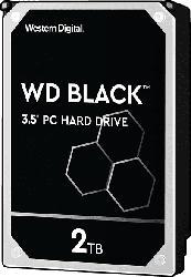 WD Black™ BULK, 2 TB HDD, 3.5 Zoll, intern
