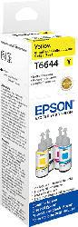 EPSON Original Tintenpatrone Tintenflasche Gelb (C13T664440)