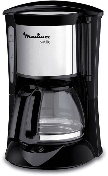 MOULINEX FG 1508.11 Kaffeemaschine Edelstahl matt/Schwarz