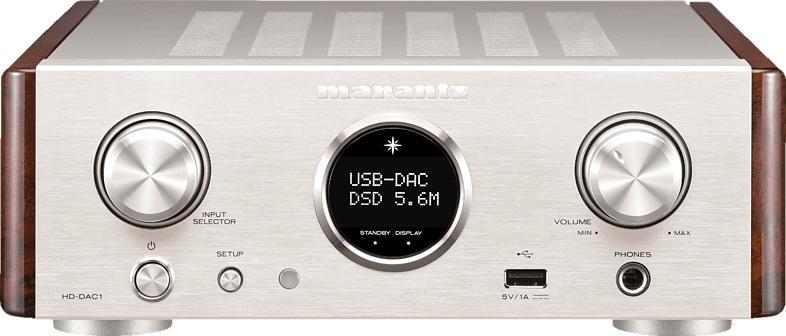 MARANTZ HD-DAC1 Verstärker (2 Kanäle, Silber/Gold)