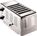 MediaMarkt GASTROBACK 42006 Rowlett Toaster Silber (3000 Watt, Schlitze: 6)