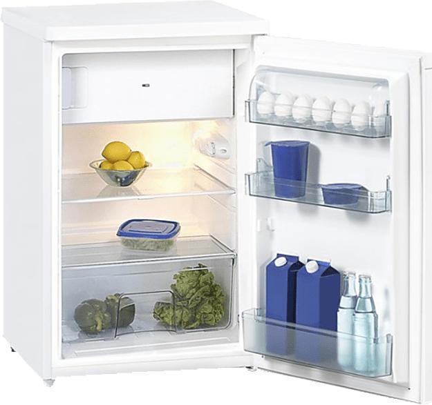 OK. OFK 31112 A2 Kühlschrank (134 kWh/Jahr, A++, 850 mm hoch, Weiß)