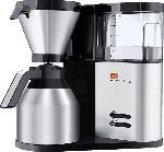 MediaMarkt MELITTA 1012-04 Aroma Elegance Therm Filterkaffeemaschine  Schwarz/Edelstahl