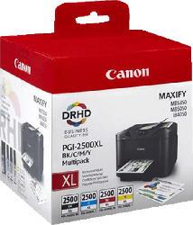 CANON PGI-2500XL Tintenpatrone Multipack mehrfarbig (9254B004)