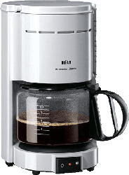 BRAUN KF 47/1 Aromaster Classic Kaffeemaschine Weiß