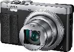 MediaMarkt PANASONIC Lumix DMC-TZ71 LEICA Digitalkamera Schwarz/Silber, 12.1 Megapixel, 30x opt. Zoom, TFT-LCD, WLAN
