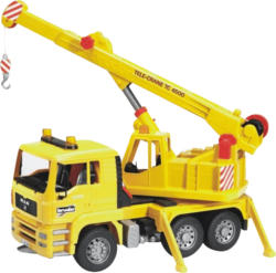 BRUDER MAN TGA Kran-LKW Baufahrzeug, Mehrfarbig