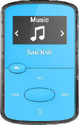 SANDISK SanDisk Clip Jam Mp3-Player (8 GB, Blau)
